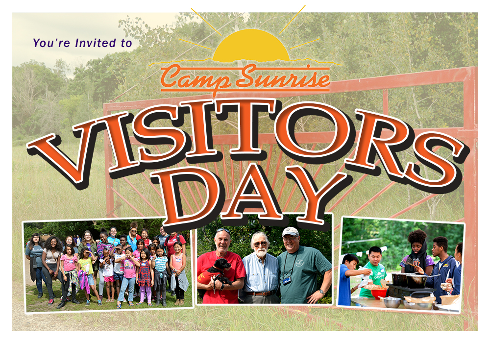 Camp Sunrise's Annual Visitors Day